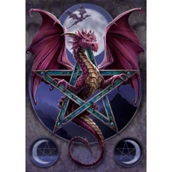Anne Stokes Dragon Card 6 Pack - Lunar Magic